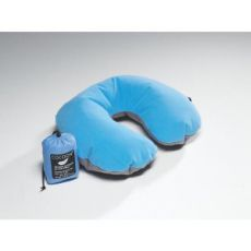 Надувная подушка Cocoon Air-Core Pillow U-shape blue